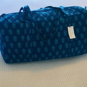 Vera Bradley Turtle Larger Traveler  Duffel